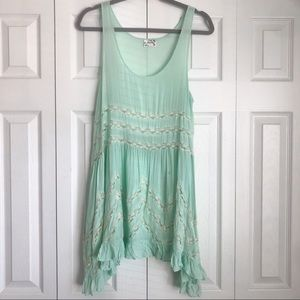 Free People Intimately | Voile + Lace Trapeze Slip